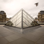 Glass pyramid, Louvr